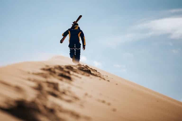Can You Ski on Sand