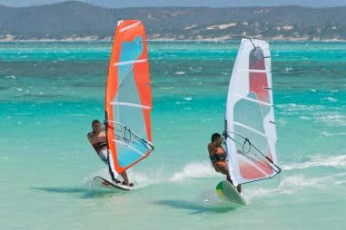 Windsurfing vs. Surfing and Paddleboarding