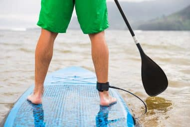 How Do You Use a Paddle Board Paddle