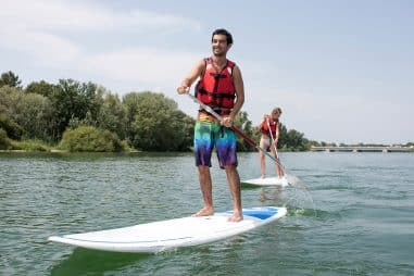 How Do You Paddle Board Safely